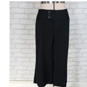 MAURICE'S Black Cropped Dress Trousers size 5/6